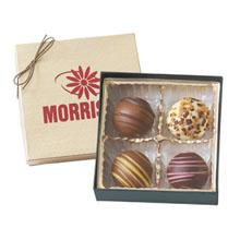 Chocolate Truffles - 4 Pack