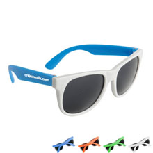 Neon Sunglasses w/ White Frame