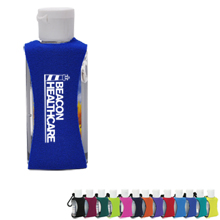 Gel Sanitizer w/ Neoprene Sleeve, 2oz.