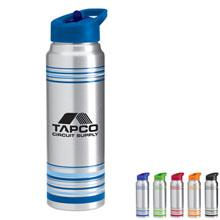 Leyton Aluminum Bottle, 28oz., BPA Free - Free Set Up Charges!