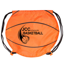 Drawstring Backpack - Basketball