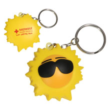 Cool Sun Key Chain