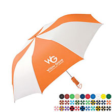 "Mister Showers Auto Open Folding Umbrella, 44"" Arc"