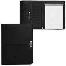 Bellbrook Zippered Leather Padfolio