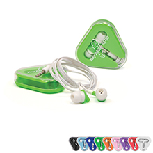 Ear Buds w/ Triangle Case