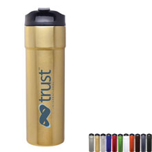 Lars Stainless Steel Tumbler, 14oz. - Free Set Up Charges!