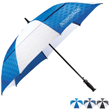 "Slazenger™ Champions Vented Auto Golf Umbrella, 64"" Arc"