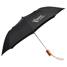 "EcoSmart® Folding Umbrella, 44"" Arc"