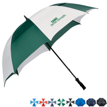 "Course Vented Golf Umbrella, 62"" Arc"