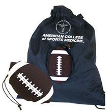 Football Themed Fold-Up Cinchpack