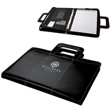 Attaché Zippered 3 Ring Binder & Padfolio