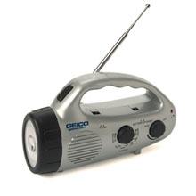 Dynamo Flashlight & Radio