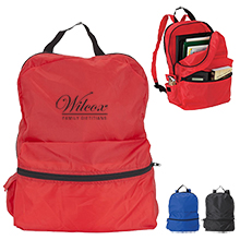 Backpack with Rain Jacket