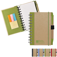 Eco Journal & Sticky Note Combo