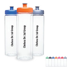 Marina Clear Sport Bottle, 25oz., BPA Free