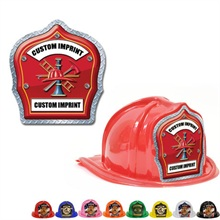 Chief's Choice Kid's Firefighter Hat, Fire Rescue Design