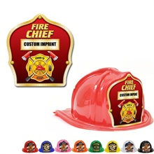 Chief's Choice Kid's Firefighter Hat,  Fire Chief Gold Design