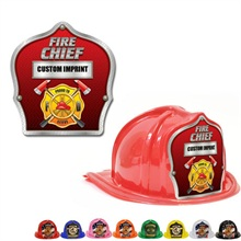 Chief's Choice Kid's Firefighter Hat, Fire Chief Silver Trim Design