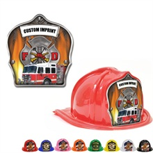 Chief's Choice Kid's Firefighter Hat, Fire Truck Design