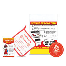 Kitchen Safety Teaching Kit, Stock