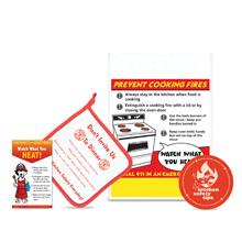 Kitchen Safety Teaching Kit, Stock