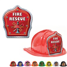 Chief's Choice Kid's Firefighter Hat, Fire Rescue Design, Stock