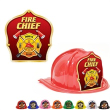 Chief's Choice Kid's Firefighter Hat, Fire Chief Gold Design, Stock