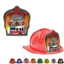Chief's Choice Kid's Firefighter Hat, Fire Truck Design, Stock