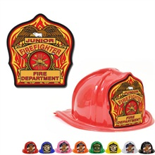 Chief's Choice Kid's Firefighter Hat, Eagle Design, Stock