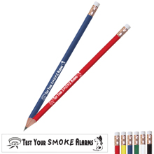 Fire Safety Pencil, Test Your Smoke Alarms, Stock