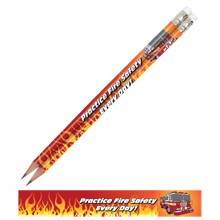 Practice Fire Safety Every Day, Stock Full Color Pencil
