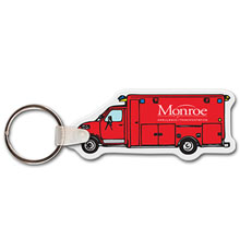 Ambulance Full Color Key Tag
