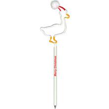 Duck w/ Holiday Hat InkBend Standard™ Pen