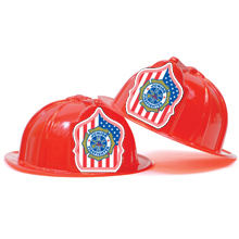 Fire Station Favorite Hat Patriotic Design, Stock