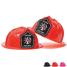 Fire Station Favorite Hat  Back Shield Design, Custom