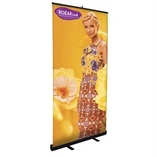 Economy Retractor Banner Display Kit, 36""
