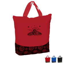 Color Pop Zippered Tote