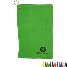 Fingertip Towel w/ Grommet - Colors