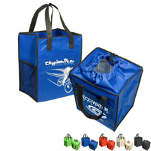 Insulated Drawstring Grocery Tote
