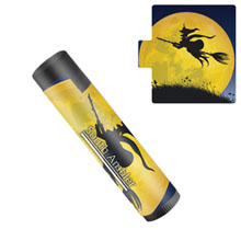 Halloween Flavors Lip Balm - Witch Design, SPF 15 - Free Shipping!
