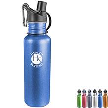 Arctic Aluminum Sports Bottle, 24oz.