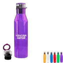 Carmel Plastic Water Bottle, 26oz.