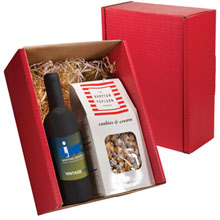 Bordeaux Wine Tool Set  & Gourmet Popcorn Gift Set