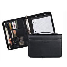 Milan Spine Handle Zippered Ringfolio