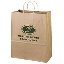 """Eco Paper Shopper Bag, 13"""" x 15-3/4"""""""