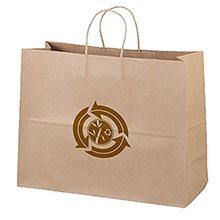 """Eco Paper Shopper Bag, 16"""" x 12"""""""