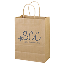 """Eco Paper Shopper Bag, 10"""" x 13"""""""