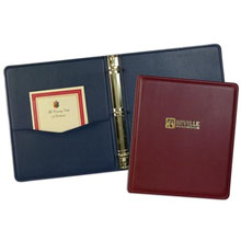Monaco Simulated Leather Ring Binder, 1-1/2""