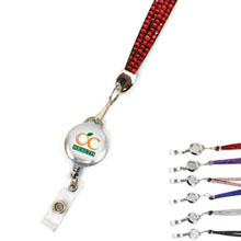 Blingyard w/ Retractable Badgeholder, Full Color