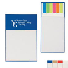 Jotter Pad w/ Sticky Flags